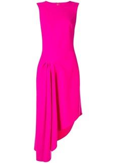 Oscar de la Renta asymmetric cocktail dress