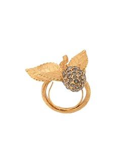 Oscar de la Renta Berry Pearl ring