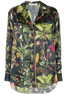Oscar de la Renta Botanical print shirt