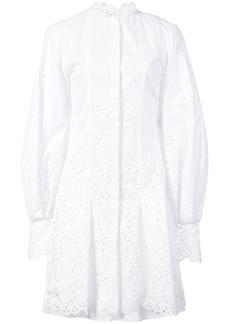 Oscar de la Renta broderie anglaise shirt dress