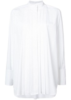 Oscar de la Renta pleated shirt