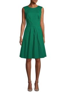 Oscar de la Renta Classic A-Line Dress