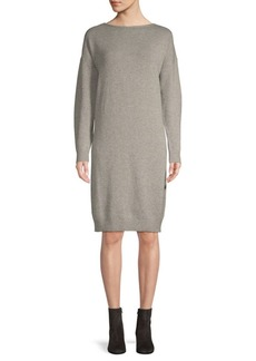 Oscar de la Renta Classic Boatneck Day Dress