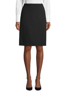 Oscar de la Renta Classic Pleated Skirt