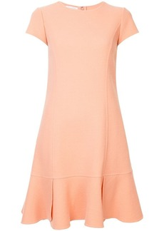 Oscar de la Renta crepe shift dress