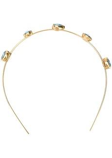 Oscar de la Renta Gallery crystal-embellished headband