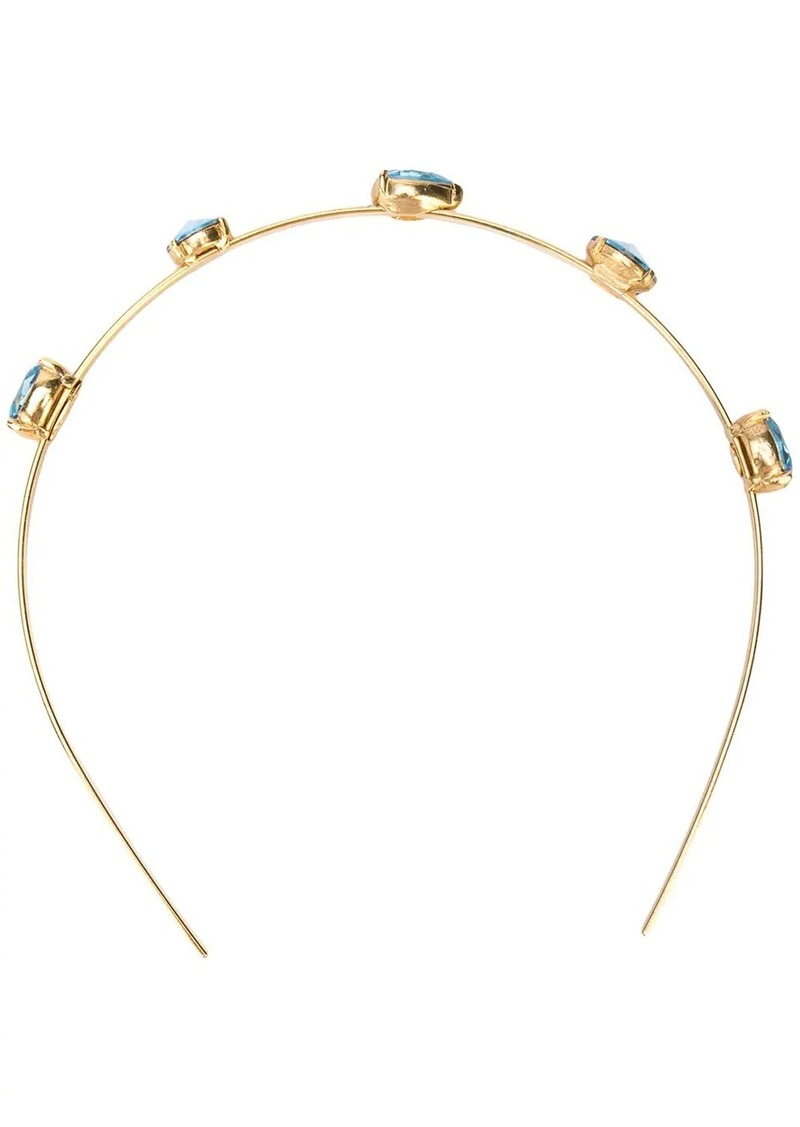 Oscar de la Renta crystal embellished head band
