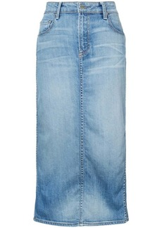 Oscar de la Renta denim pencil skirt