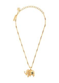 Oscar de la Renta Elephant chain necklace