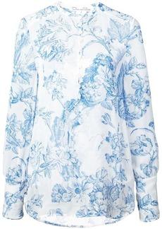 Oscar de la Renta floral print shirt