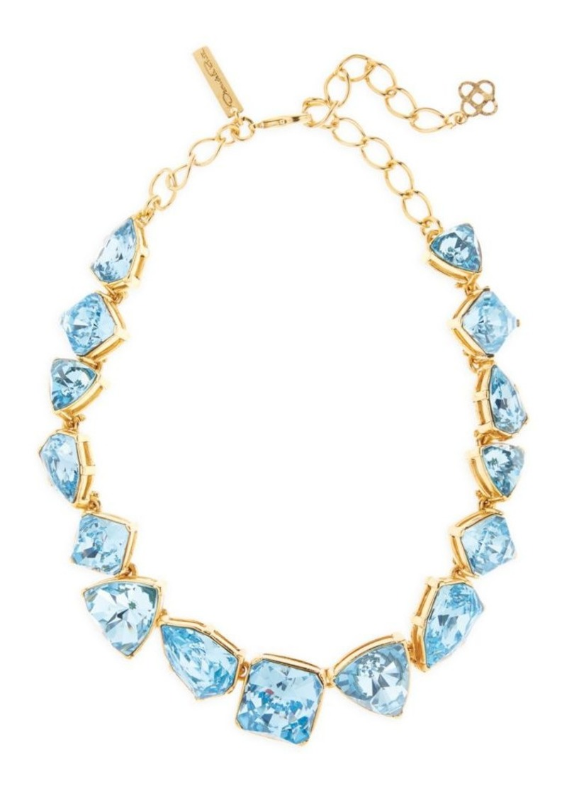 Gallery-Set Swarovski Crystal Necklace