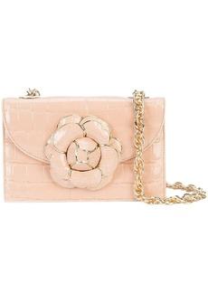 Oscar de la Renta gardenia crossbody bag
