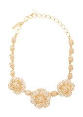 Oscar de la Renta Gardenia necklace