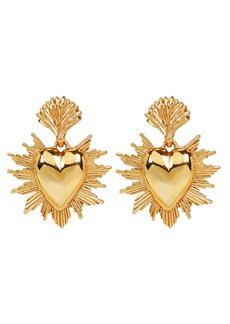 Oscar de la Renta Hearts and Stars Earrings