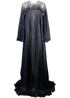 Oscar de la Renta kaftan gown with beading
