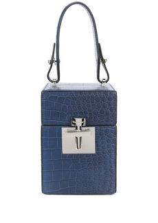 Oscar de la Renta mini Alibi top handle box bag