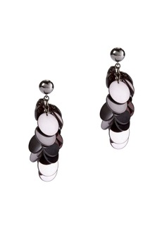 Oscar de la Renta Plexi Cascade Earrings