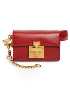 Oscar de la Renta Alibi Leather Belt Bag
