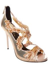 Oscar De La Renta Ambria 115 Mesh & Patent Sandal