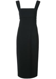 Oscar de la Renta body-con midi dress - Black