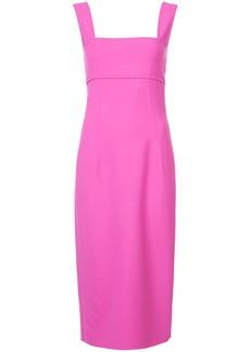 Oscar de la Renta body-con mini dress - Pink & Purple