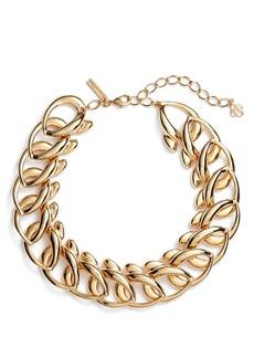 Oscar de la Renta Bold Chain Link Necklace