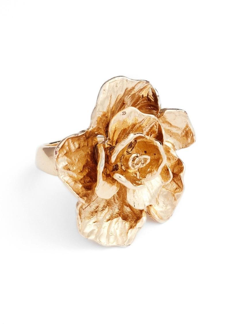 Oscar de la Renta 'Bold Flower' Ring
