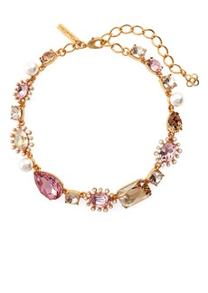 Oscar de la Renta Bold Mixed Jewel Necklace