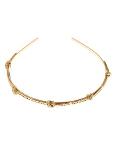 Oscar de la Renta Braided Chain Headband