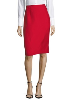 Oscar de la Renta Casual Pencil Skirt