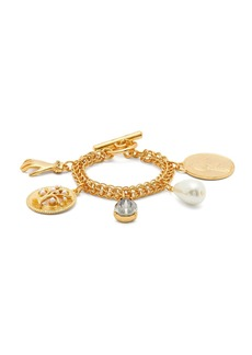 Oscar De La Renta Charms chain-link bracelet