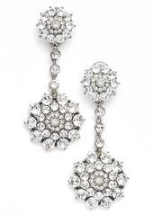 Oscar de la Renta 'Classic Jeweled' Swarovski Crystal Drop Earrings