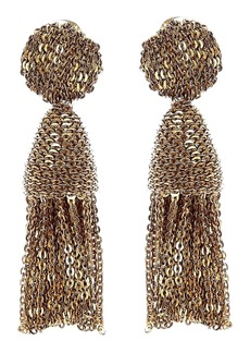 Oscar de la Renta 'Classic Short' Tassel Chain Drop Earrings