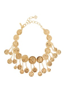Oscar de la Renta Coin Shaker Necklace