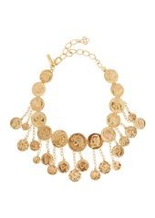 Oscar de la Renta Coin Shaker Necklace