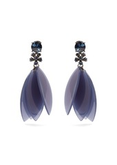 Oscar de la renta oscar de la renta crystal embellished petal clip on earrings abvaa49b4ed a