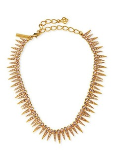 Oscar de la Renta Crystal Sea Urchin Necklace