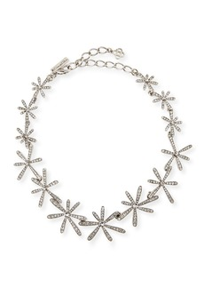 Oscar de la Renta Daisy Crystal Collar Necklace
