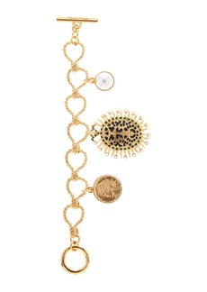 Oscar de la Renta Decorative Medallion Bracelet