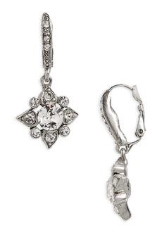 Oscar de la Renta Delicate Crystal Drops