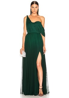 Oscar de la Renta Drape Gown