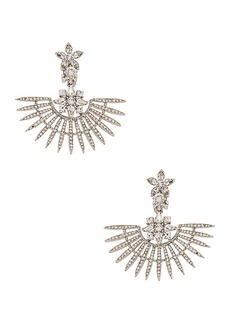 Oscar de la Renta Fan Earrings