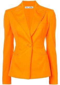 Oscar de la Renta fitted blazer - Yellow & Orange
