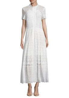 Oscar de la Renta Floral Floor-Length Dress