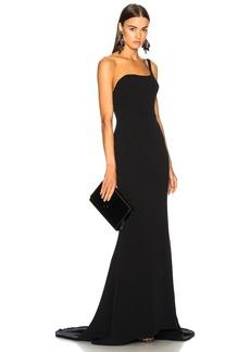 Oscar de la Renta for FWRD One Shoulder Gown
