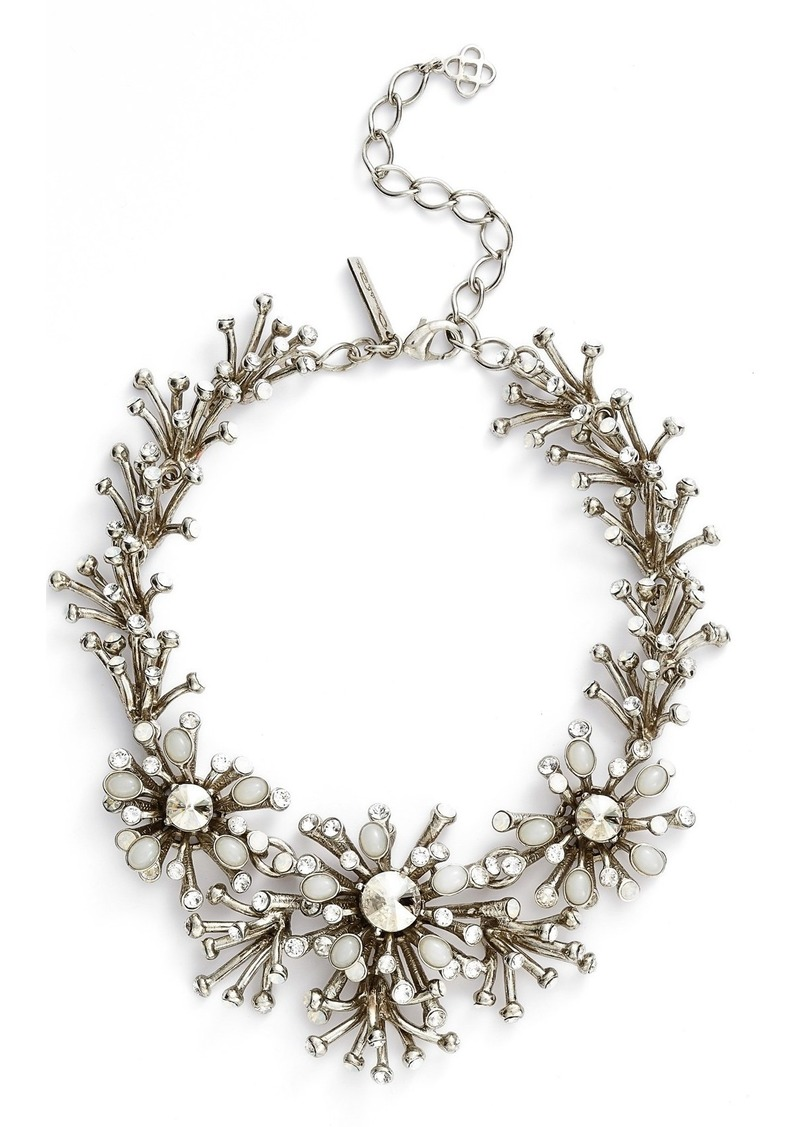 Oscar de la Renta 'Galaxy Coral' Statement Necklace
