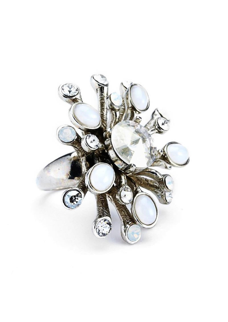 Oscar de la Renta 'Galaxy' Swarovski Crystal Ring