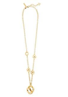 Oscar de la Renta Globes Pendant Necklace