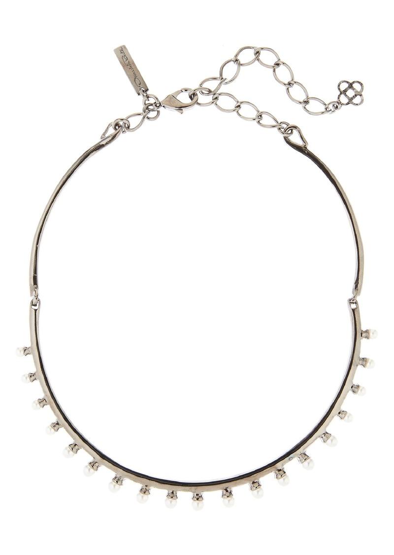 Oscar de la Renta Imitation Pearl Necklace