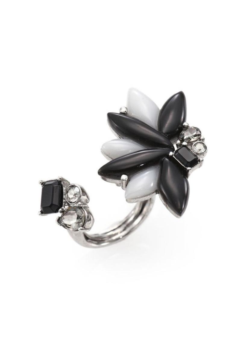 Oscar de la Renta Navette Petal Ring